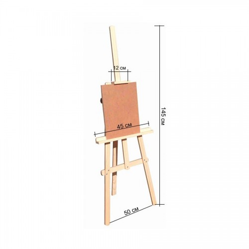 Floor Easel Wooden Art.41M