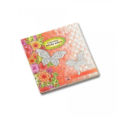 Colouring Sticky Notes 122X122Mm