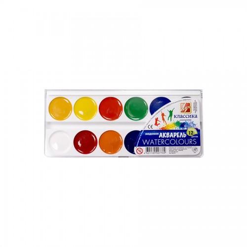 Luch, Watercolour Set,12 Colours
