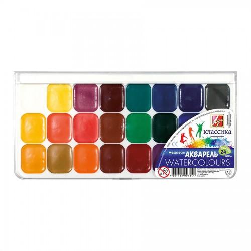 Luch, Watercolour Set,24 Colours