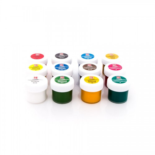 Luch  Gouache Set, 12 Colours