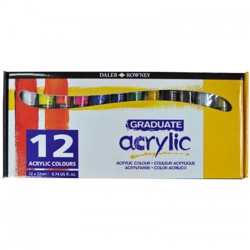 GRAD ACRYL SET 12X22ML