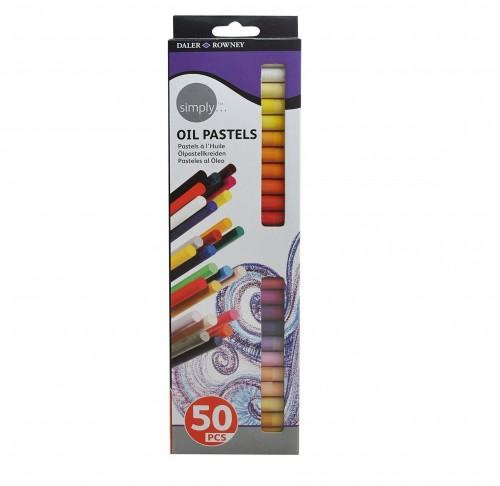 SIMPLY OIL PASTELS 50