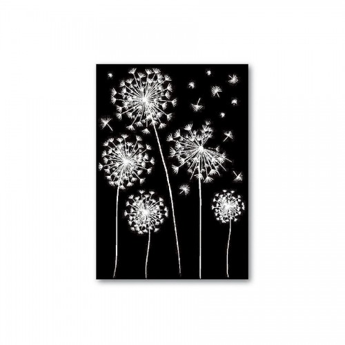 Decotransfer -  A5Size - Dandelions