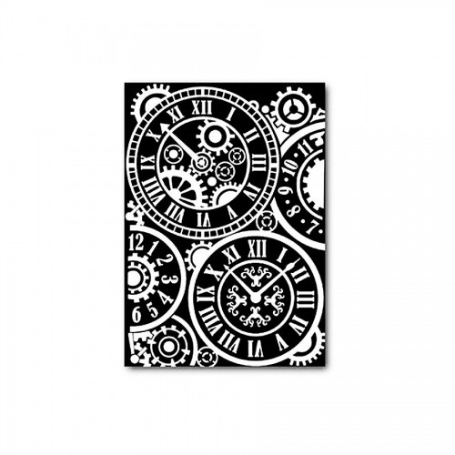 Decotransfer -  A5Size - Clocks