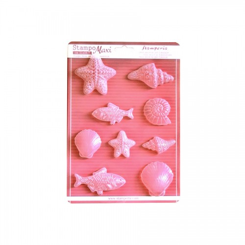 Soft Maxi Mould -  Small Fishes