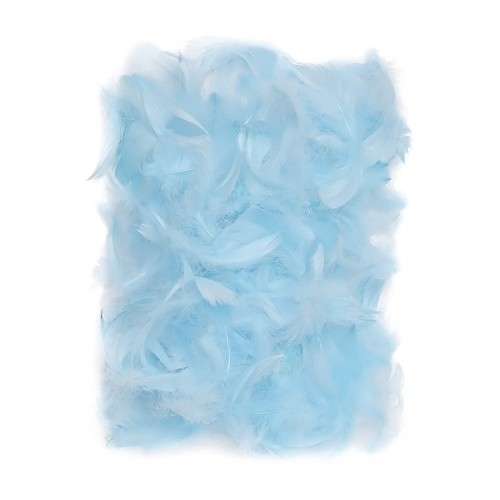 Feathers 5-12 Cm, 10 G Blue