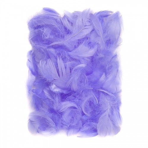 Feathers 5-12 Cm, 10 G Lilac