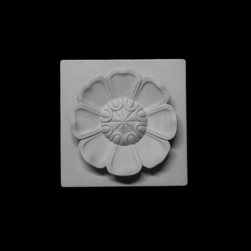 Plaster Modell For Painting Flower