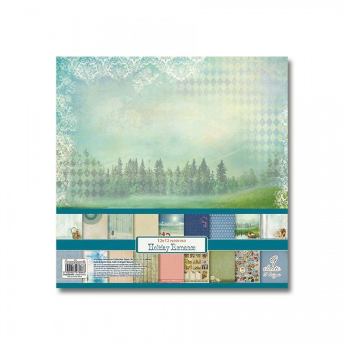 Paper Collection Set Holiday Romance  (12*12–190GS
