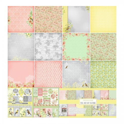 "Scrapbooking paper set 12""*12"" The Art of Nature 1"