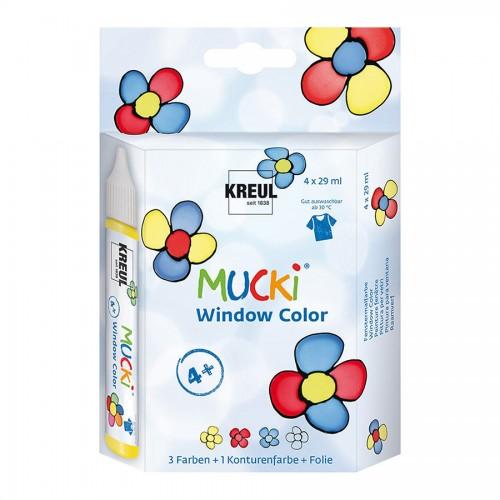 Mucki Window Color 4Er-Set