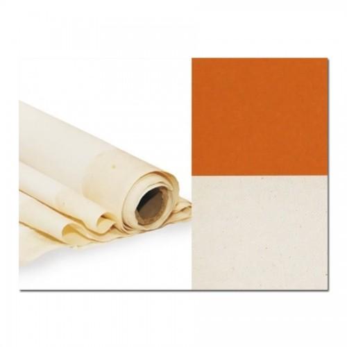 Primed Cotton Canvas, Width 2Х3M, Extra Fine Grain, Sienna