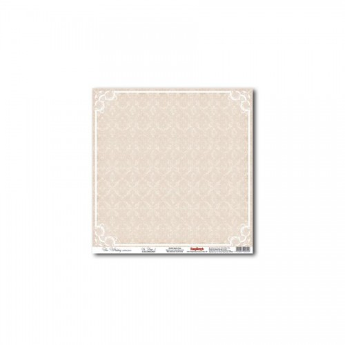 "One-Sided Paper 12*12"" In Beige 1 180Gsm"