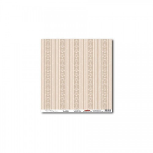 "One-Sided Paper 12*12"" In Beige 3 180Gsm"