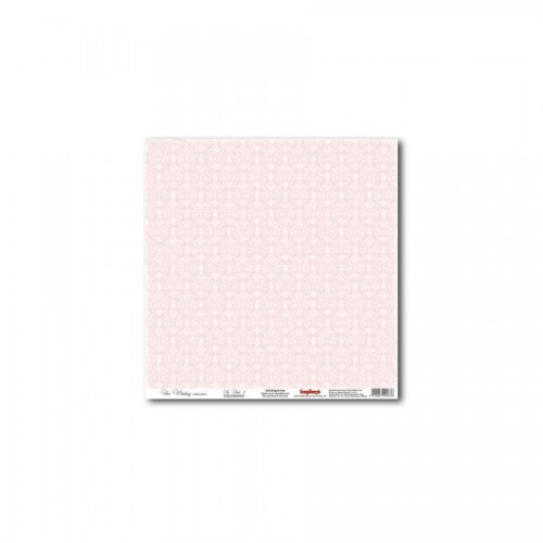 "One-Sided Paper 12*12"" In Pink 5 180Gsm"