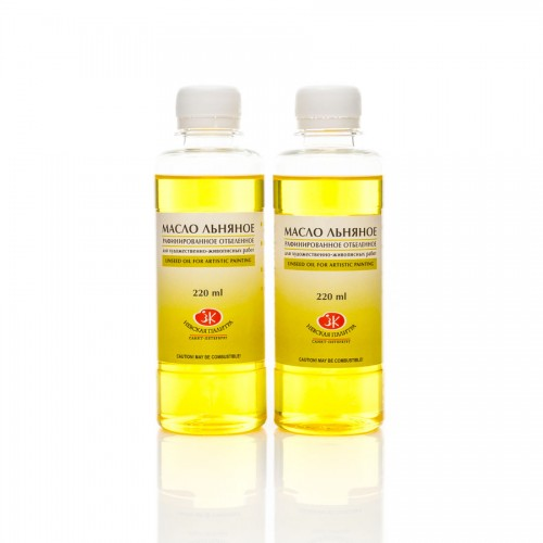 Bleached Refined Linseed-Oil 220Ml