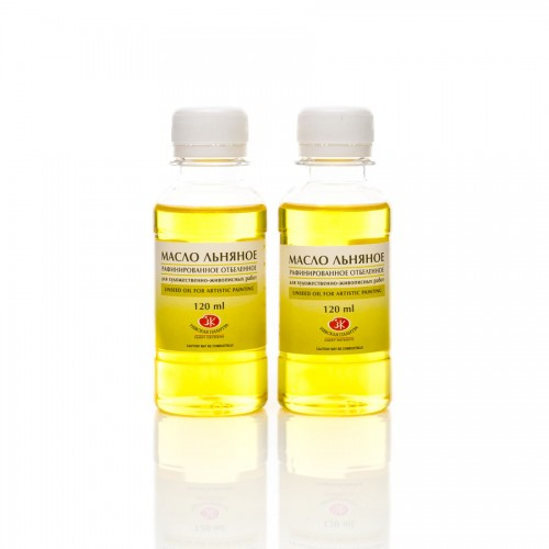 Bleached Refined Linseed-Oil 120Ml