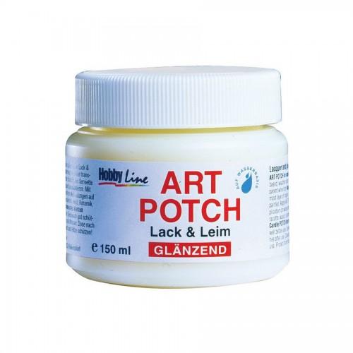 Lacquer + Glue 150M, Glossy, Art Potch, C.Kreul
