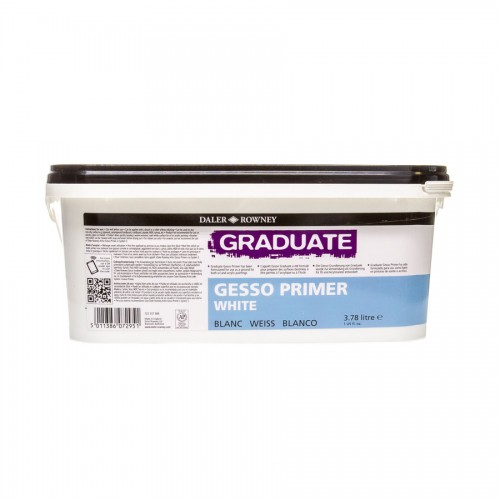 Acrylic White Primer Gesso Daler-Rowney 3,78L