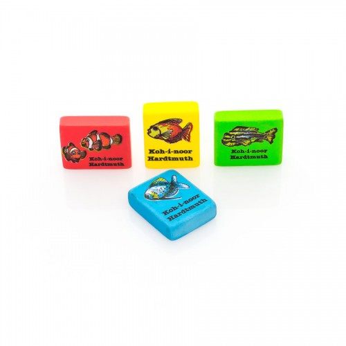 Plastic Erasers Pets