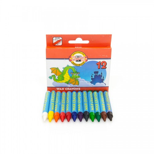 Set Of Wax Pastels 12Pcs