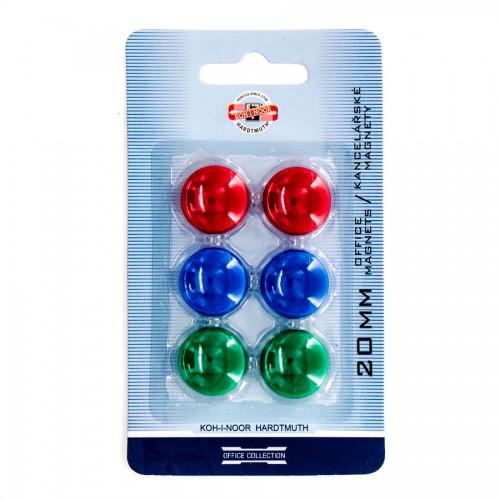 Round Magnet  6Pcs, Koh-I-Noor