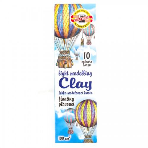 Set Of Modeling Clay  Light 10 Pcs