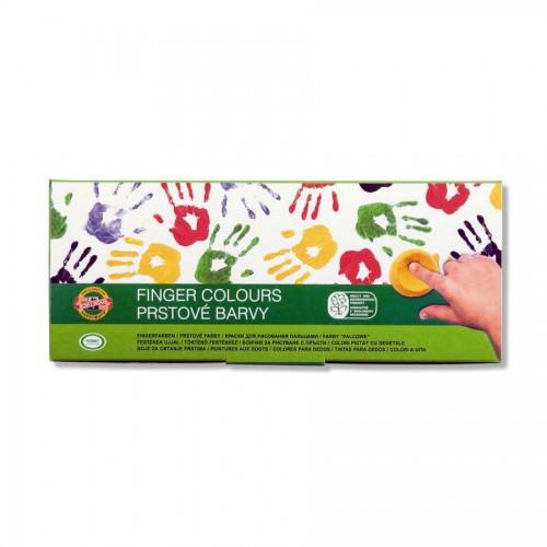 Set Of Finger Colours 10 Pcs